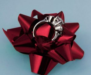 Coffee Cup Ring Showcase Gift View
