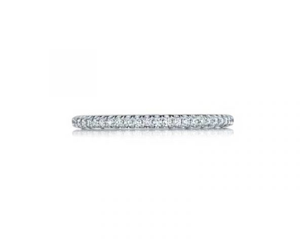 Eternity Petite Sculpted Crescent Wedding Band by Tacori Showcase View