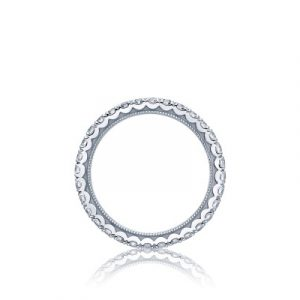 Clean Crescent Band by Tacori Side Showcase View