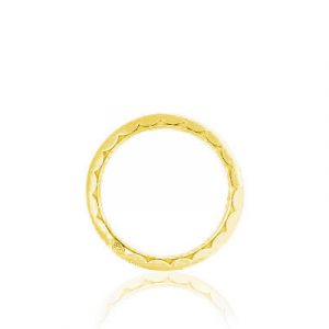 Sculpted Crescent Wedding Band by Tacori Showcase Side View