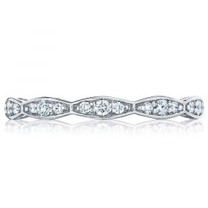 Sculpted Crescent Wedding Band by Tacori Showcase View