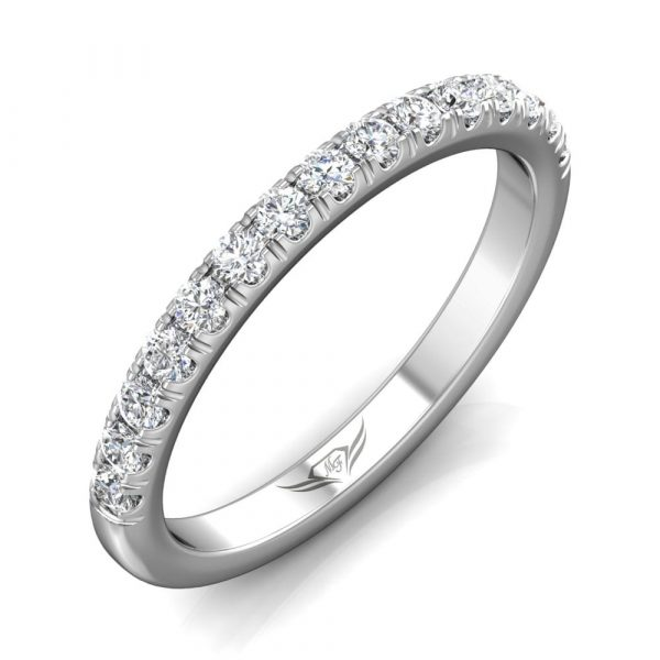 Micro-pave Diamond Band by Martin Flyer