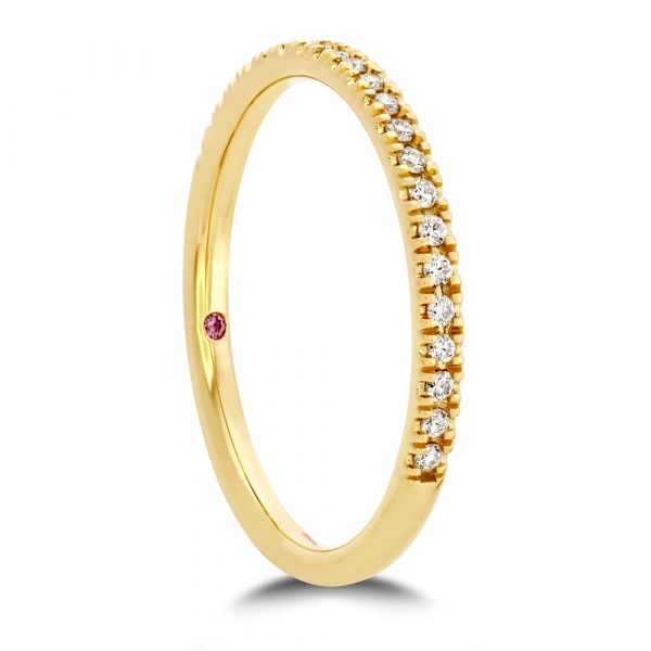 Sloane Wedding Band by Hearts on Fire