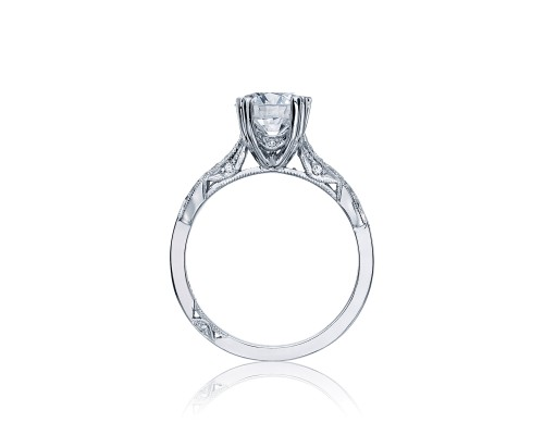 Ribbon Engagement Ring by Tacori Showcase Side View
