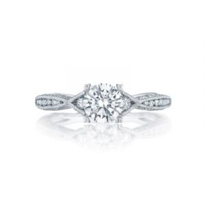 Classic Crescent Engagement Ring by Tacori Showcase View