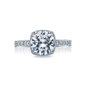 Dantela Large Bloom Engagement Ring by Tacori