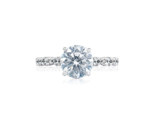 Petite Crescent Engagement Ring by Tacori Showcase View