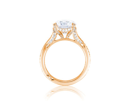 RoyalT Engagement Ring by Tacori Showcase Side View