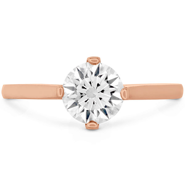Deco Chic Engagement Ring Mounting Showcase Front View