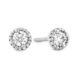 Liliana Stud Earrings by Hearts On Fire Showcase View