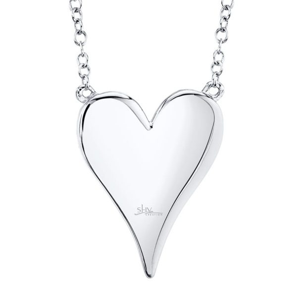 Diamond Heart Necklace by Shy Creation
