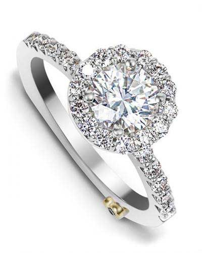 Sentiment Engagement Ring Mounting by Mark Schneider Display View
