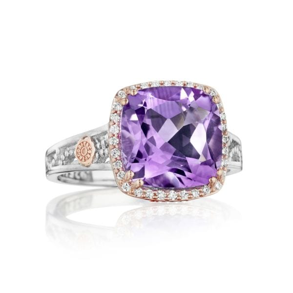 Amethyst Petite Crescent Ring by Tacori