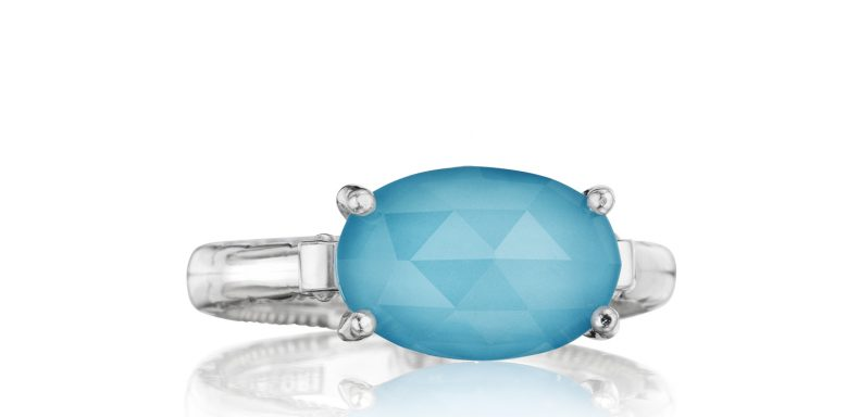 East West Oval Ring by Tacori Showcase View