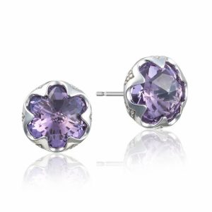 Crescent Bezel Earrings by Tacori Showcase View