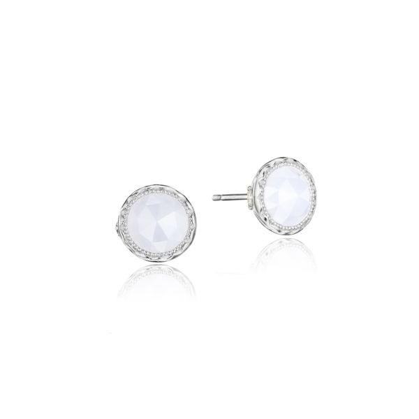 Cushion Cut Gem Earrings by Tacori