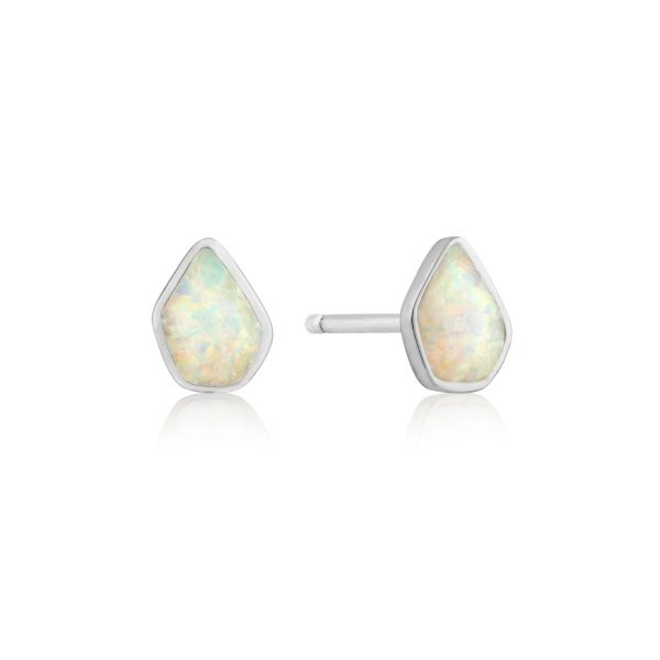 Opal Color Stud Earrings by Ania Haie