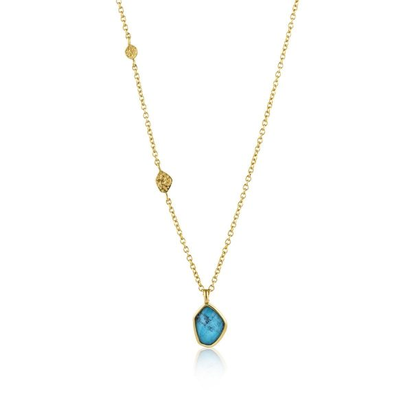 Turquoise Pendant Necklace by Ania Haie