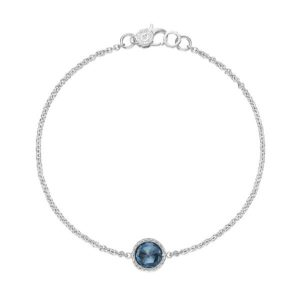 Floating London Blue Topaz Bracelet by Tacori