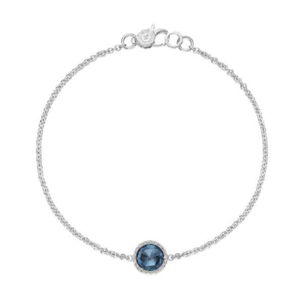 Floating London Blue Topaz Bracelet by Tacori