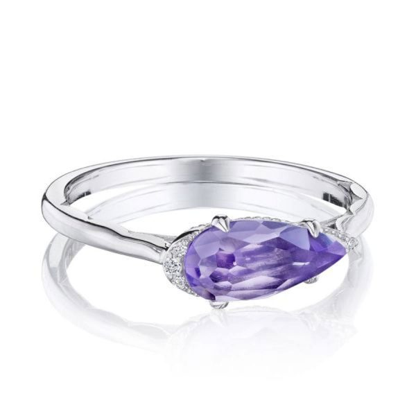 Pear Shaped Amethyst Ring by Tacori