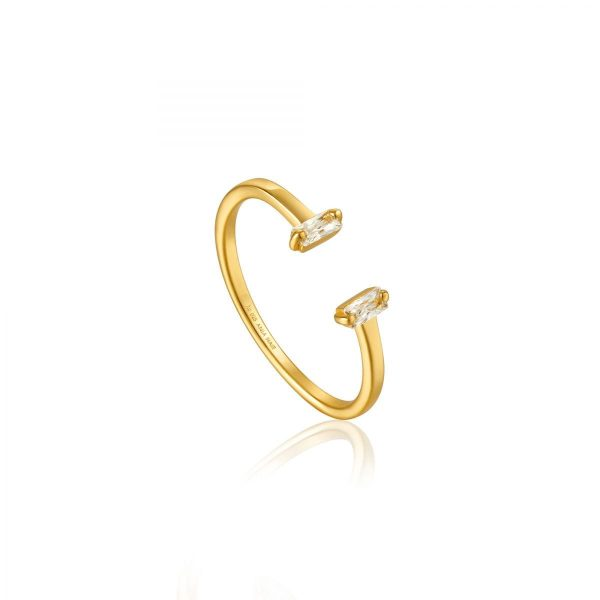 Glow Adjustable Ring by Ania Haie