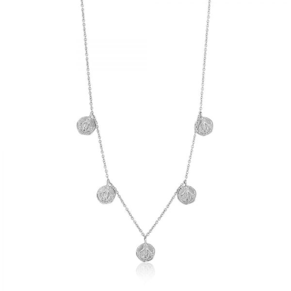 Small Medallion Necklace by Ania Haie