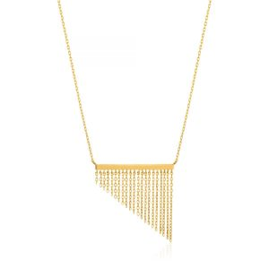 Fringe Fall Necklace by Ania Haie