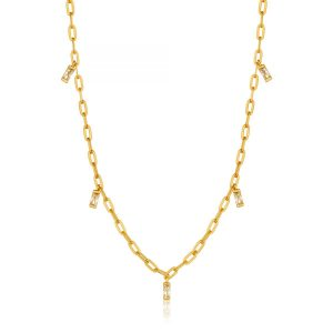Glow Drop Necklace by Ania Haie