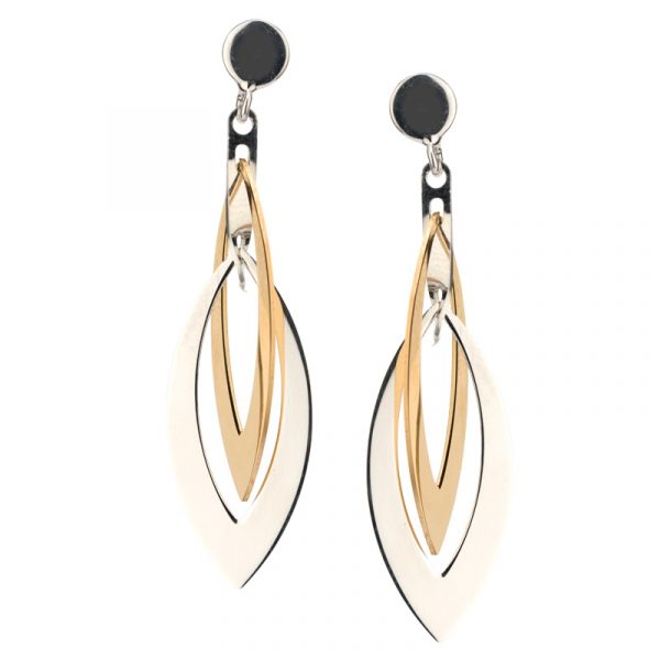 Layered Marquis Earrings by Frederic Duclos Showcase View