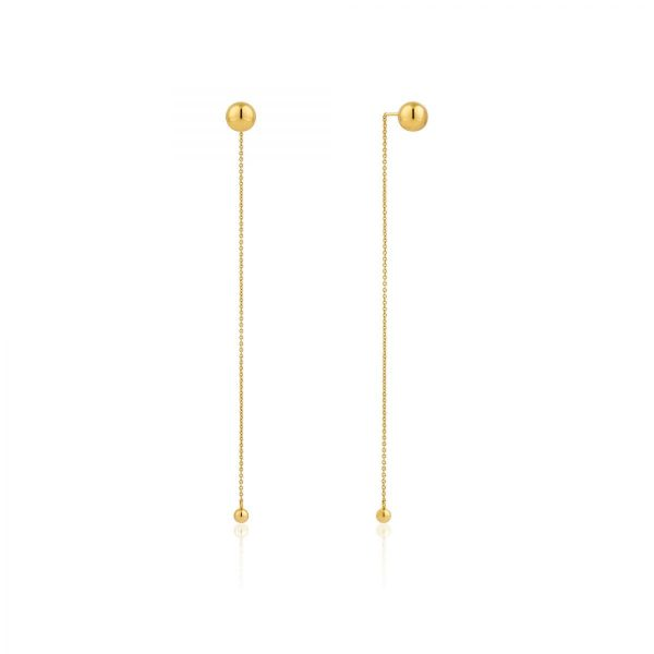 Orbit Drop Earrings by Ania Haie