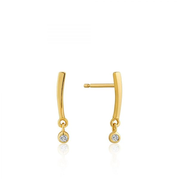 Ania Haie Summer Bar Stud Earrings