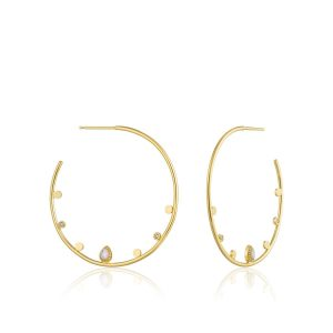 Dream open hoop earrings by ania haie