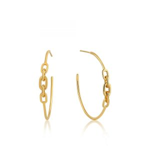Links Hoop Earrings by Ania Haie