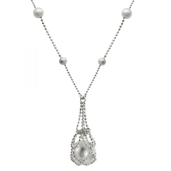 Lace Pearl Necklace by Imperial Showcase View