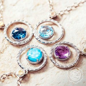 Bold Bloom Necklace by Tacori Display View