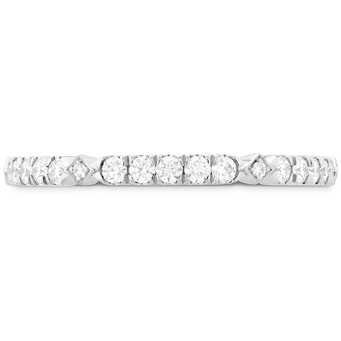 Cali Chic Accent Wedding Band by Hearts On Fire Showcase View