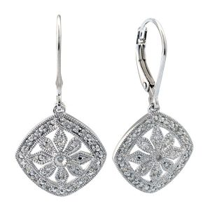 Antique Inspired Earrings Showcase View