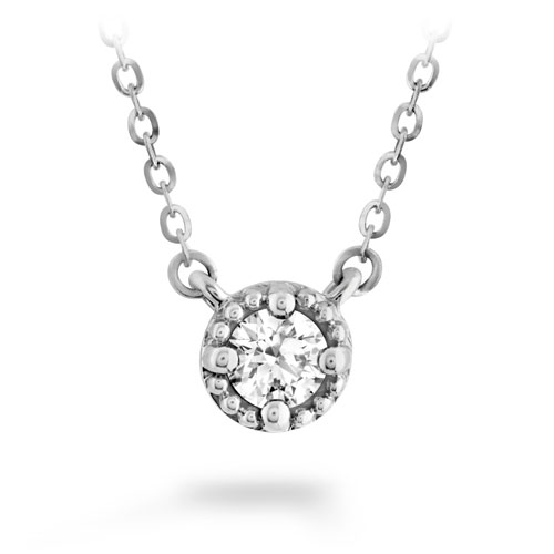 Liliana Diamond Necklace by Hearts On Fire Showcase View