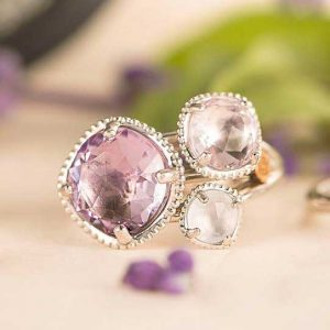Lilac Blossoms Budding Brilliance Ring by Tacori Showcase View