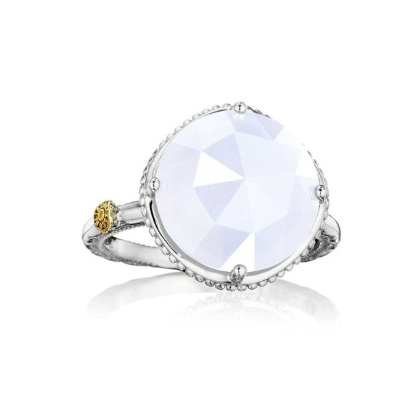Chalcedony Bold Simple Gem Ring by Tacori Display View