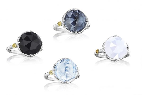 Bold Simple Gem Rings by Tacori Option View