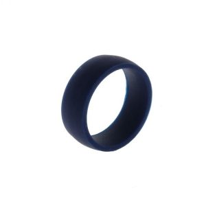 Navy Silicone Ring by Heavy Stone Rings