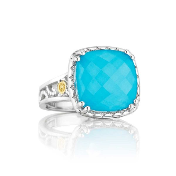 Island Rains Crescent Ceiling Ring by Tacori Front View