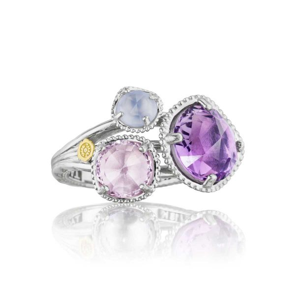 Lilac Blossoms Budding Brilliance Ring by Tacori Display View