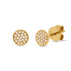 Cluster Stud Earrings by Shy Creation Showcase View
