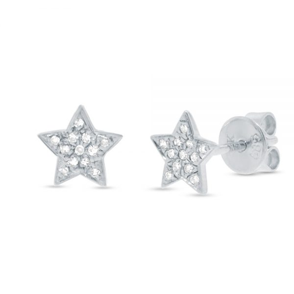 Star Stud Earrings by Shy Creation Showcase View