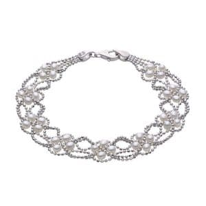 Lace Pearl Bracelet by Imperial Showcase View