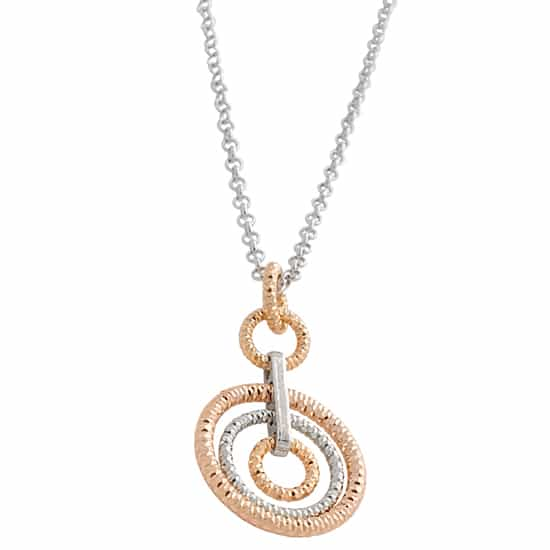 Small Ring Necklace by Frederic Duclos Showcase View