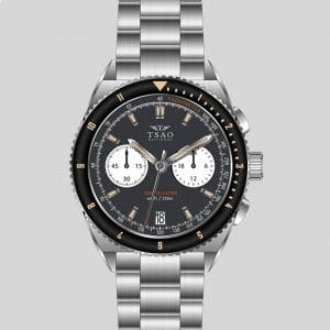 Constellation Chrono-Diver - Midnight Grey by Tsao